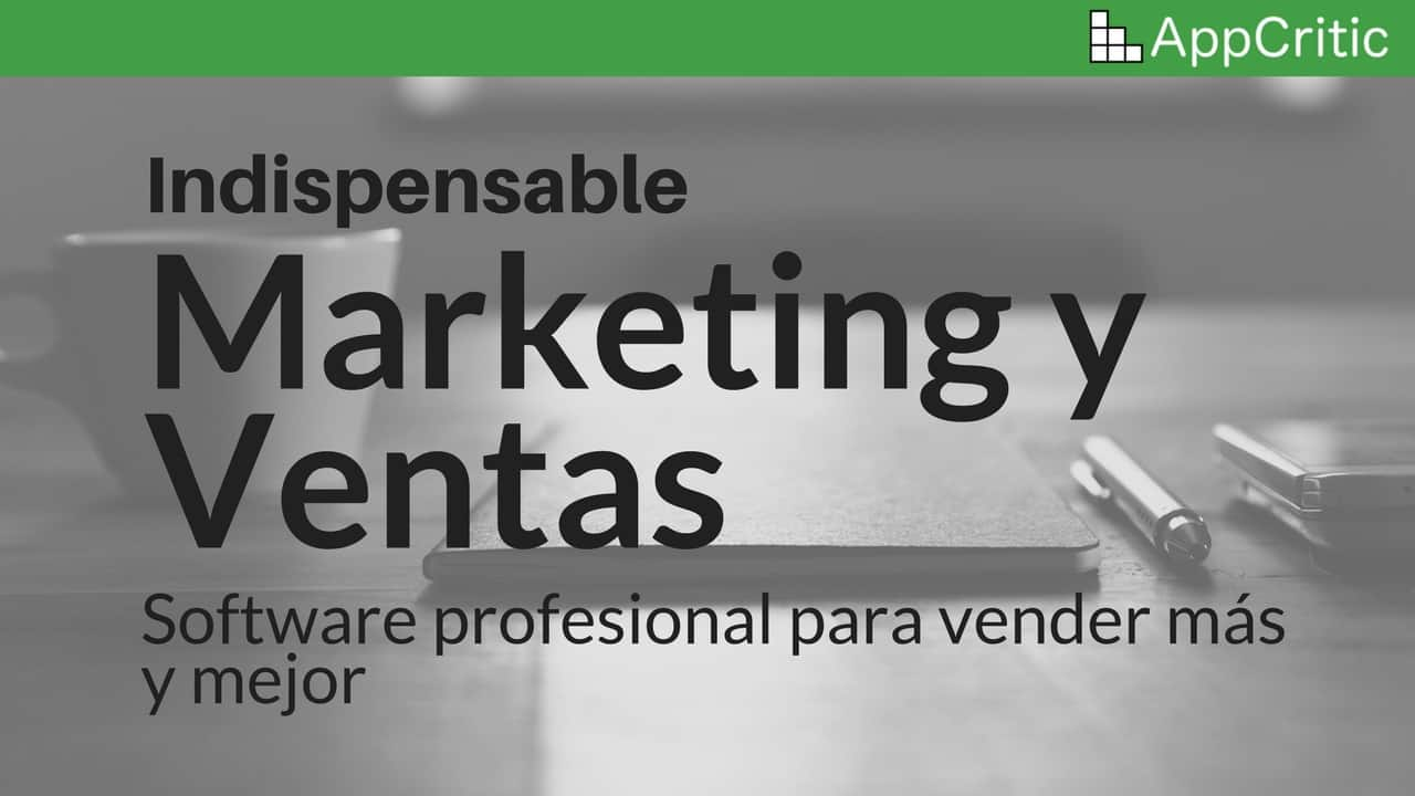 Software Profesional para Marketing y Ventas