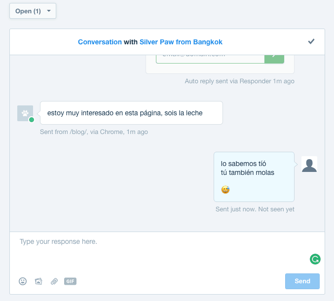 Qué es Intercom. Chat (backend)
