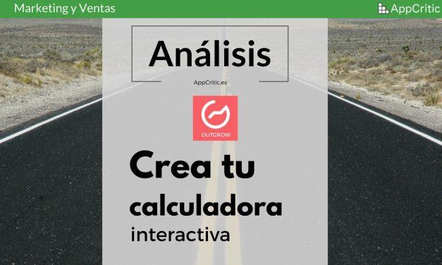 Análisis de Outgrow: crea tests, juegos de preguntas y respuestas y calculadoras interactivas