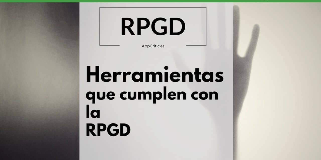 Herramientas de email Marketing y Marketing Automation que cumplen con la GDPR (RGPD )