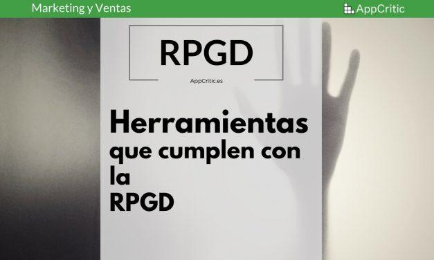 Herramientas de email Marketing y Marketing Automation que cumplen con la GDPR (RGPD )