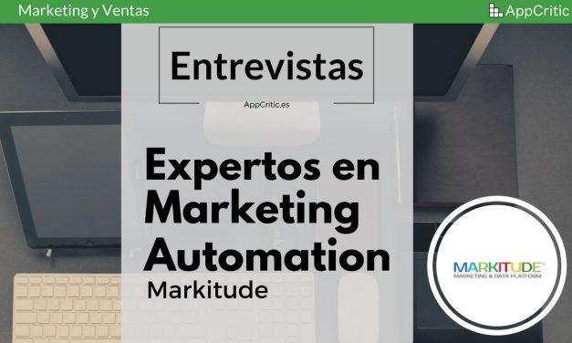 [Entrevista] Markitude, software de Marketing Automation creado en España